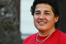 Paulina González, académica del Departamento de Ingeniería de Obras Civiles