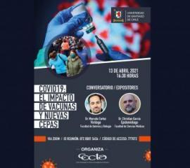 Afiche conversatorio Cecta-Usach