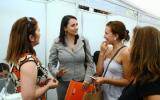 Vicerrectora Kri en la Feria del Postulante Usach 2011